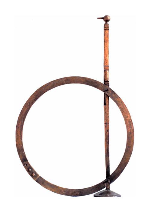 (Italiano) Il cerchio – Bozzetto scultura h cm 69