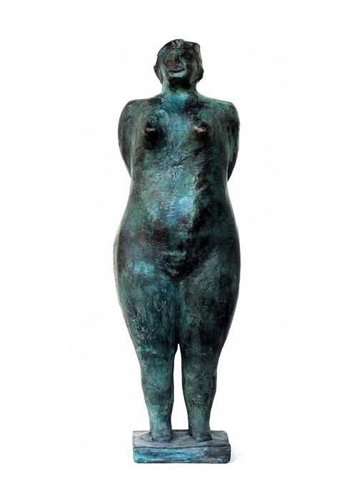 (Italiano) Clara – Bronzetto a cera persa h cm 35